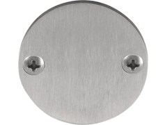 Formani, ONE - PBB50 Rosetta rotonda in acciaio inox