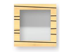 Specchio quadrato da parete con cornice ONE WARM | Specchio - DOLCEVITA LINES