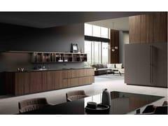 Cucina componibile lineareONE | Cucina in legno - ERNESTOMEDA