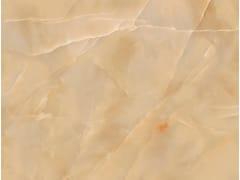 Pavimento/rivestimento in gres porcellanato effetto marmo per interni ed esterni ONICI AMBRA - Maxfine Onici