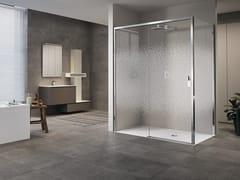Box doccia angolare con porta scorrevole OPERA 2P+F - Opera