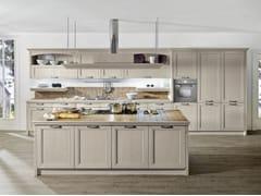 Cucina componibile laccata con isolaOPERA | Cucina con isola - ARREDO 3
