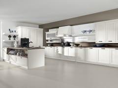 Cucina componibile laccata con penisolaOPERA | Cucina con penisola - ARREDO 3