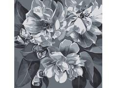 Tappeto a fiori quadrato in lanaOPHELIA GREY - BLOSS