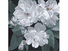 Tappeto a fiori quadrato in lanaOPHELIA - BLOSS