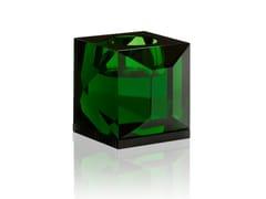 Portacandele in cristallo OPHELIA GREEN -