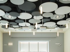 Isole acustiche in minerale OPTIMA L CANOPY - ARMSTRONG BUILDING PRODUCTS
