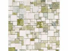 Mosaico in marmo OPUS VERDE - Classic