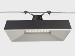 Lampada a sospensione per esterno a LED su caviORAO | Lampada a sospensione per esterno su cavi - CARIBONI GROUP