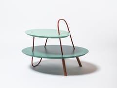 Tavolino rotondo in legnoORBIT 2L - MEDULUM