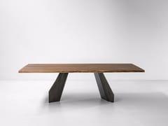 Tavolo rettangolare in legnoORIGAMI | Tavolo in legno - BONALDO