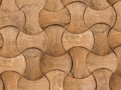 NEXT LEVEL DESIGN STUDIO, ORLANDO Rivestimento tridimensionale modulare in legno