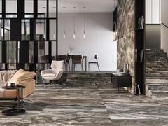 Pavimento/rivestimento in gres porcellanato effetto marmoOROBICO TAUPE - EXAGRES