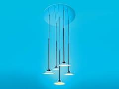 Lampada a sospensione a LED a luce diretta in metacrilatoORSA - ARTEMIDE