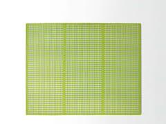 Tappeto fatto a mano rettangolare in tessuto in stile moderno ORTO | Tappeto rettangolare - High Tech
