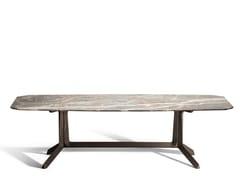 Tavolo da salotto rettangolare in marmo OTHELLO | Tavolo rettangolare - LA COLLEZIONE - Tavoli e sedie