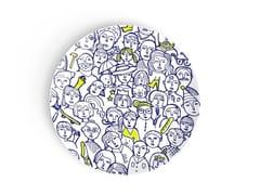 Piatto rotondo in porcellana per bambiniWHERE IS LÉO? - DEUXIEME CHAMBRE