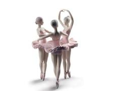 Soprammobile in porcellanaOUR BALLET POSE DANCERS - LLADRÓ