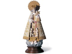 Soprammobile in porcellanaOUR LADY OF THE FORSAKEN - LLADRÓ