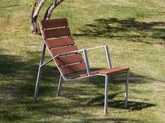 Seduta da esterni in legnoHARPO | Seduta da esterni - URBIDERMIS