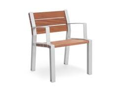 Seduta da esterni in legnoINNER | Seduta da esterni - URBIDERMIS