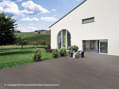Pavimento per esterni in gres porcellanato effetto cemento KONE FLOOR | Pavimento per esterni - Kone