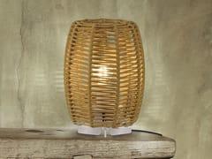 Lampada da tavolo / lampada da tavolo per esterno in cordaPOMA | Lampada da tavolo - FM ILUMINACIÓN