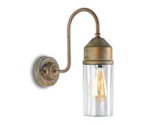 Lampada da parete per esterno a LED in ottoneDARSILI | Lampada da parete per esterno - MORETTI LUCE