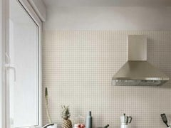 Rivestimento tridimensionale in ceramica effetto tessutoOUTFIT | Mosaico Ivory - MARAZZI GROUP