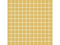 Rivestimento tridimensionale in ceramica effetto tessutoOUTFIT | Mosaico Ocher - MARAZZI GROUP