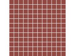 Rivestimento tridimensionale in ceramica effetto tessutoOUTFIT | Mosaico Red - MARAZZI GROUP
