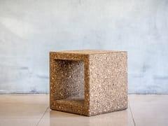 Tavolino quadrato in sugheroOUTLINE   Tavolino - FACTOR-ESPAÇO, INVESTIMENTOS IMOBILIÁRIOS