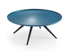 Tavolino rotondo in alluminio OUTLINE | Tavolino - Oliver B. Casa
