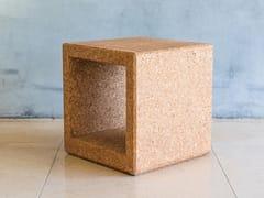 Tavolino quadrato in sugheroOUTLINE | Tavolino quadrato - FACTOR-ESPAÇO, INVESTIMENTOS IMOBILIÁRIOS