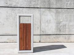 SIT, OUTLINE   Portarifiuti in legno  Portarifiuti in legno