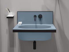 Lavabo ovale singolo sospeso in ceramicaELLE | Lavabo ovale - CERAMICA CIELO