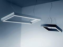 Lampada a sospensione a LED a luce diretta in alluminio estruso OVO Q | Lampada a sospensione - Ovo