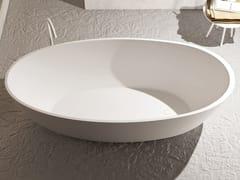 Vasca da bagno centro stanza ovale in Luxolid®OVO TUB | Vasca da bagno centro stanza - RELAX DESIGN