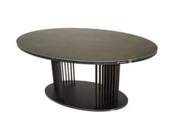 Tavolo da salotto ovale in acciaioOVOV | Tavolo - TRACKDESIGN