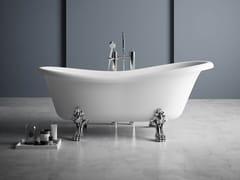 Vasca da bagno centro stanza ovale in Kstone su piediOXFORD - KAROL ITALIA