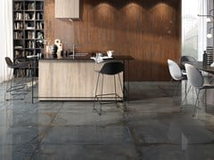 Pavimento/rivestimento effetto metalloOXYD - CERAMICA RONDINE
