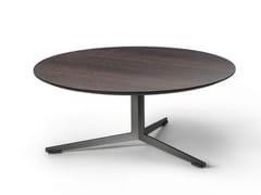 Tavolino rotondo in rovere termotrattato OYDO | Tavolino rotondo -