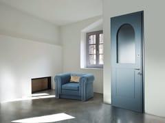Porta d'ingresso blindata laccata in MDF con pannelli in vetro SUPERIOR - 16.5039 M16 - Professional