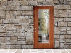 Porta d'ingresso blindata in legno e vetro SUPERIOR - 16.5041 M16 - Professional