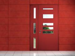 Porta d'ingresso blindata laccata in MDF con pannelli in vetro ELITE - 16.50758 M60Vip - Professional