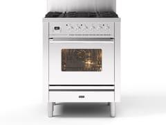 Cucina a libera installazione in acciaioP07W | Cucina a libera installazione - ILVE