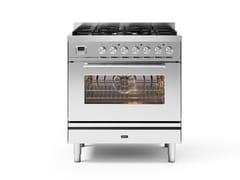 Cucina a libera installazione in acciaioP08W | Cucina a libera installazione - ILVE