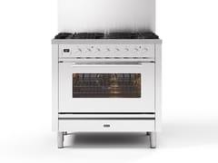 Cucina a libera installazione in acciaioP09W | Cucina a libera installazione - ILVE