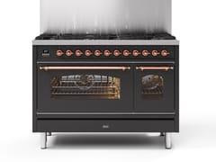 Cucina a libera installazione in acciaioP12N | Cucina a libera installazione - ILVE