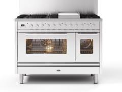 Cucina a libera installazione in acciaioP12W | Cucina a libera installazione - ILVE